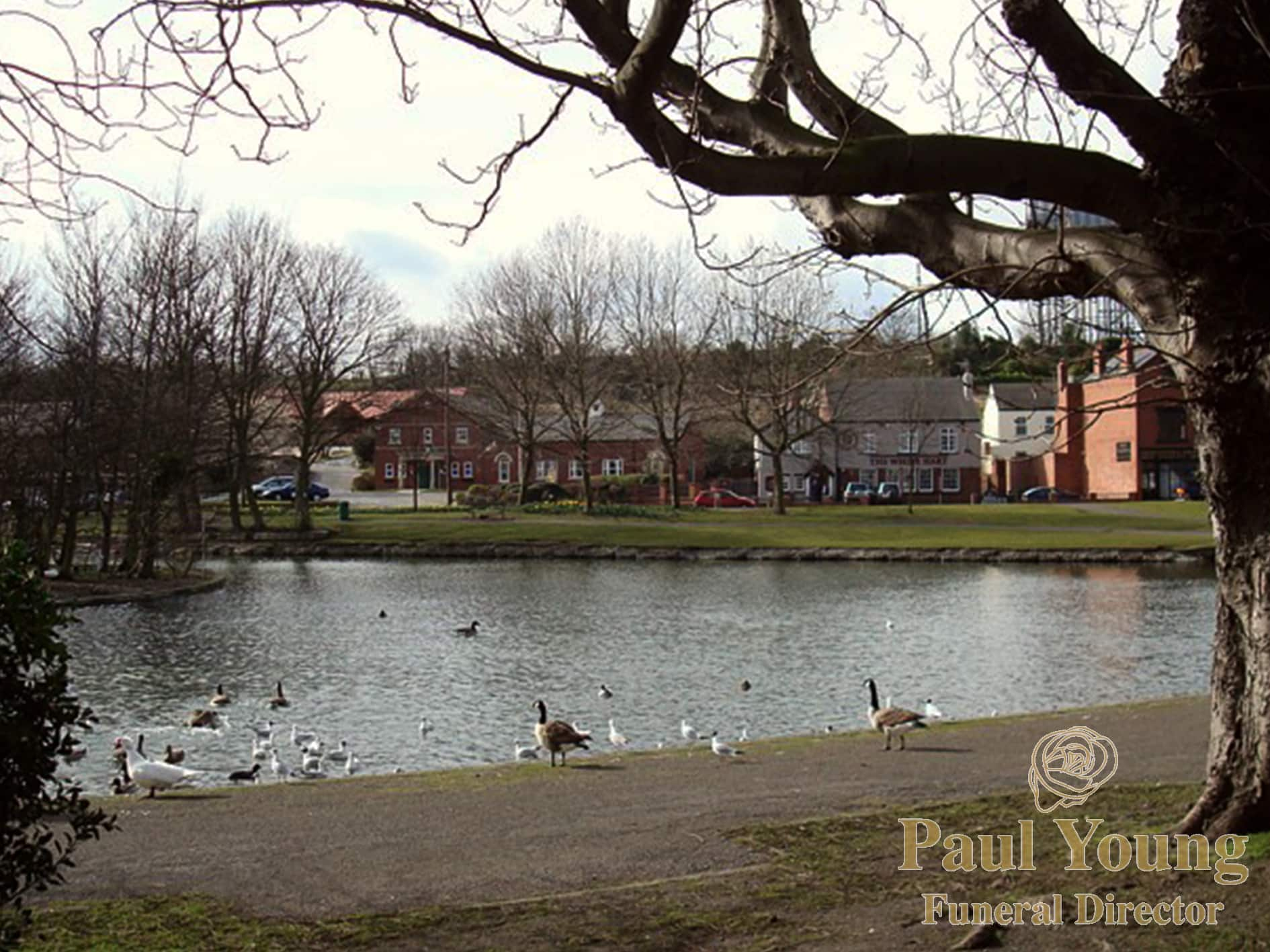 Askern Spa Pool, near the home of Askern Funeral Director Paul Young