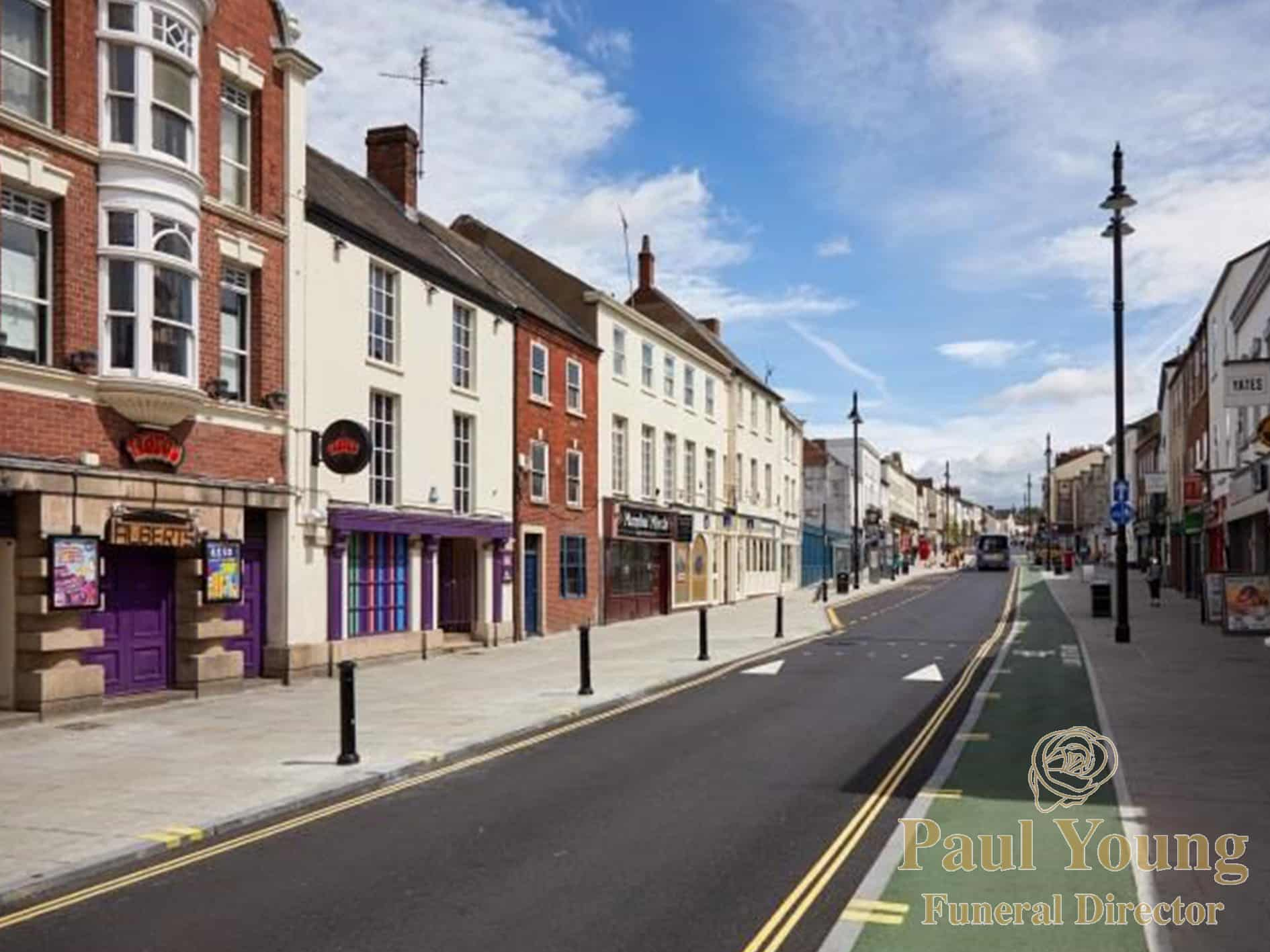 Doncaster Town Centre, Home of Doncaster Funeral Director