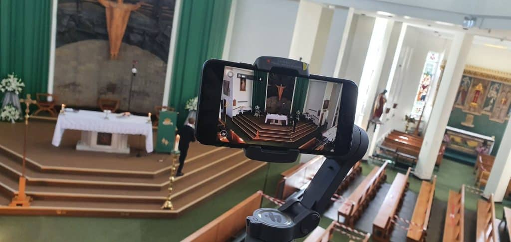 Live Streaming a Funeral Service in Doncaster