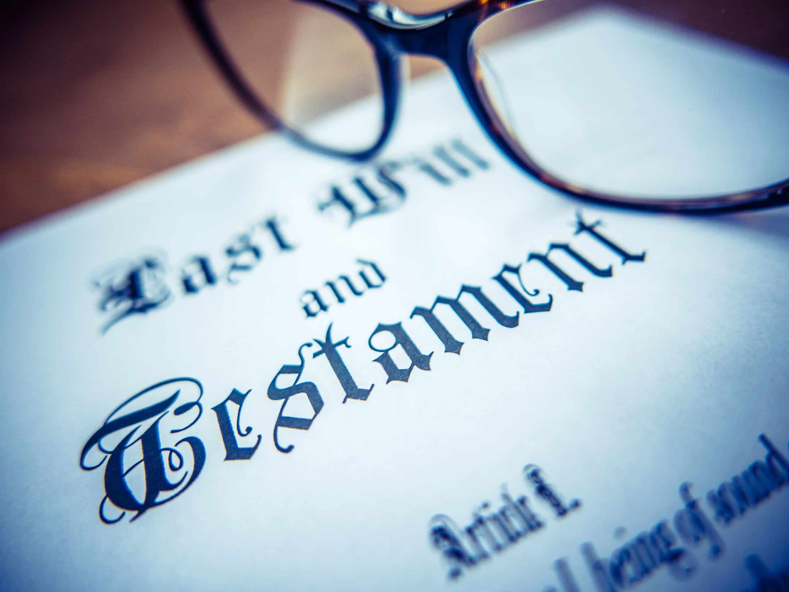 What to do when there's a Death without a Will?