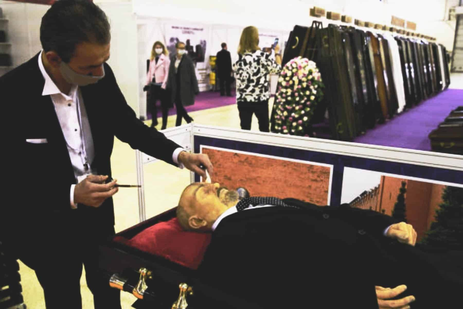 How Long does a body last after embalming? Funeral director dressing a deceased body
