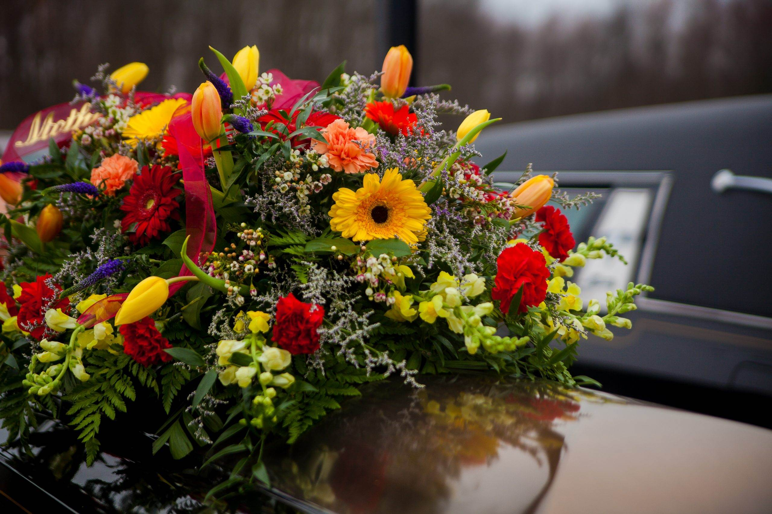 Funeral reception gives people an opportunity to spend some time together